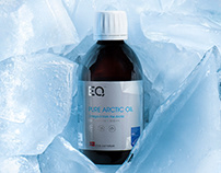 Eqology Pure Arctic Oil Packaging