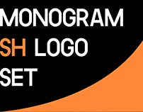 Monogram - SH Logo set