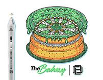 Cake Rim - Tee Design - Doughboy Bakes