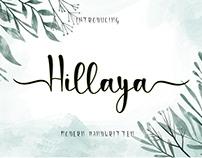 Free Hillaya Handwritten Font