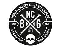 86 club logo