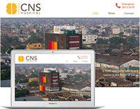 Website Design - CNS HOSPITAL