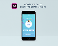 XD Daily Creative Challenge #9 Trivia Mobile App