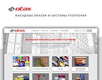 otax company web design