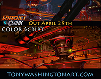 Ratchet and Clank Color Script 2