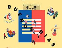 BUENOS DÍAS MEDELLÍN poster