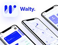 Walty App: UI/UX Case Study