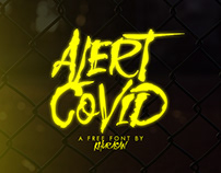Alert Covid Free Font for commercial use
