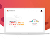 Emirates Space Science Society Website