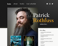 Author's Website Redesign