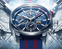 Maurice Lacroix - FC Barcelona Official Watch