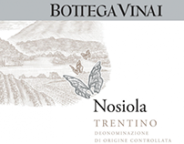 Bottega Vinai Wine Labels Illustrated by Steven Noble