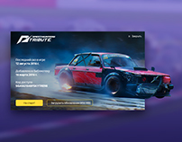 Speedhunters game start window concept