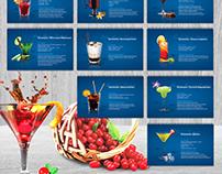 Calendar design for MINSK KRISTALL