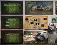 Tank Battle World War game