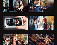 Storyboard for Asala Music Video.