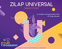 ZILAP UNIVERSAL- Family Font