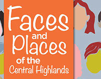 Faces and Places Project poster for Central Highlands