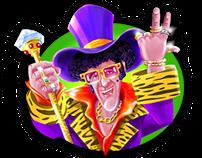 Game Art - Slot game graphics