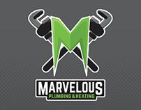 Marvellous Plumbing Rebrand