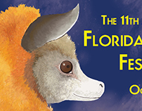 11th Annual Florida Bat Festival poster, Lubee