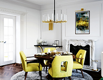 Proposal interior design diningroom London house