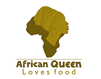 African Queen Loves Food