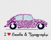 Typographic Classic Cars