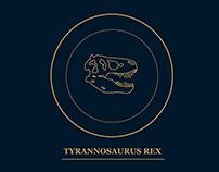 Tyrannosaurus Rex // Info Page Concept
