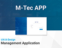 UX/UI - Mtec App