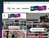 Furusiyya FEI Nations Cup - Responsive Web Design