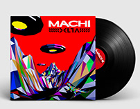Machi - Pochette de l'album Delta
