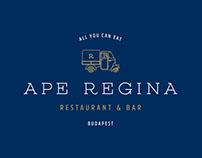 Ape Regina branding