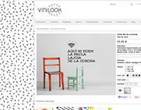 Web and online store for Vinilook