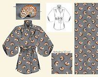 Storyboard for blouse & print