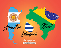 Brésil / Argentine / Uruguay