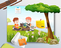 Paper Cycle Awareness Project Website Design