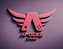 Retro logo for Apogee Games
