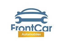 Front Car Automobiles & Repair Logo Free