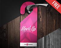Free Door Hanger Mock-up