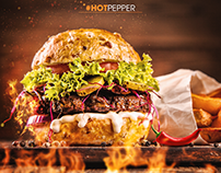 SpeedArt - Hot Pepper Burger