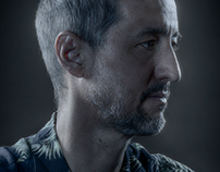 Portrait of artist Glenn Schwaiger
