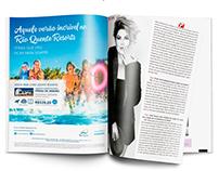Anúncio para Revista | Rio Quente Resorts