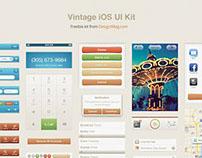 Free Vintage iOS UI Kit