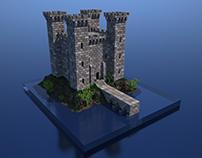 AlexTerra Castle construction kit