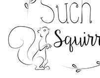 Such a Squirrel Logo Design