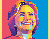 #Hillary2016 Election Poster for Design Contest