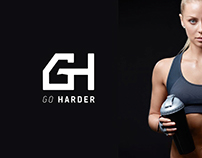 Go Harder - logo