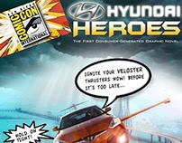 Hyundai Heroes Graphic Novel Concept