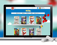 LEGO® Books Website